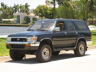 free car manuals to download 1995 toyota 4runner on board diagnostic system purchase used 1995 toyota 4runner sr5 4x4 5spd manual non smoker clean must sell no reserve