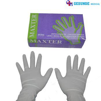 Sarung Tangan Kesehatansarung Tangan Karetexamination Gloves sarung tangan medis gloves toko medis jual alat kesehatan