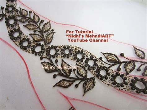 henna design leaves easy diy 21 simple mehndi henna designs collection with
