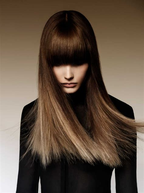 Шёлковое окрашивание волос фото