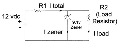 zener diode regulator circuit calculation zener diode model advisors