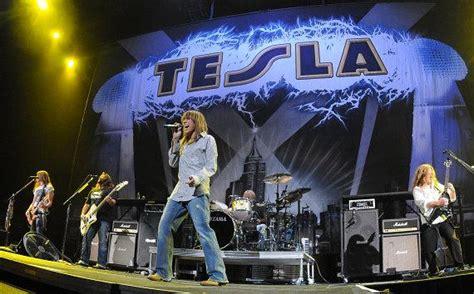 Tesla In Las Vegas Tesla Performs At The Mack Center In Las Vegas