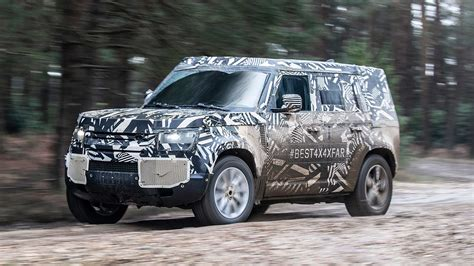 New Land Rover Defender 2020 by 2020 Land Rover Defender Teased In Revealing New Picture