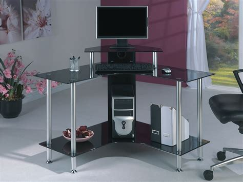 small glass corner desk jual pc004 scb desks