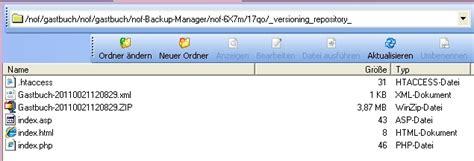 Nof Design Vorlagen backup manager