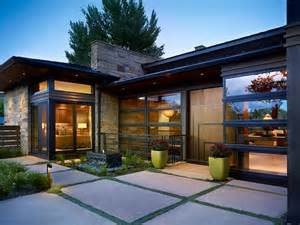 Best Solar Landscape Lighting - colorado contemporary contemporary exterior denver by haley custom homes
