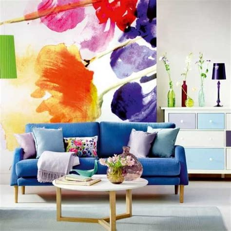 20 cool living rooms with statement artwork rilane