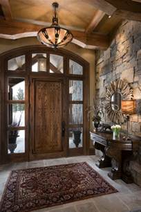 home entry design 15 inviting rustic entry designs for this winter