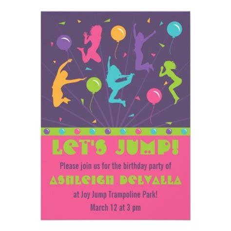 printable sky zone birthday invitations 18 best birthday parties sky zone images on pinterest