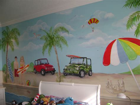 childrens wall mural nursery and children s murals tropical muralnursery and children s murals