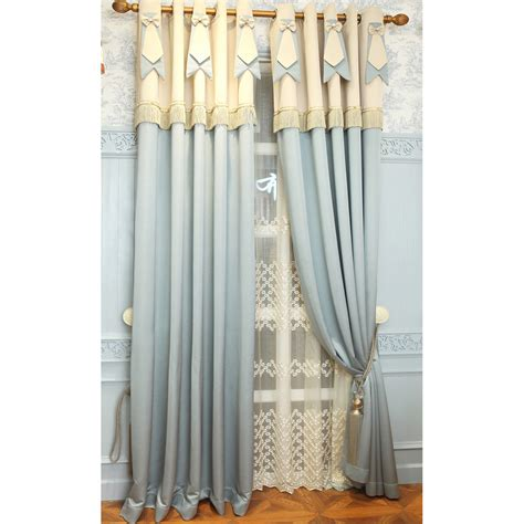 thermal bedroom curtains blue jacquard chenille elegant thermal bedroom curtains
