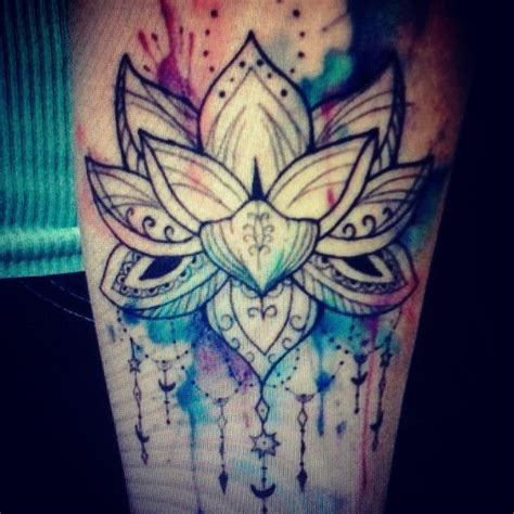 mandala watercolor tattoo google search ink