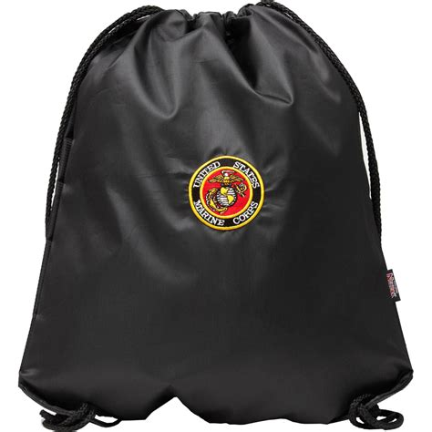 marine bookbag accessories insignia drawstring backpack us marine corps backpacks shop the