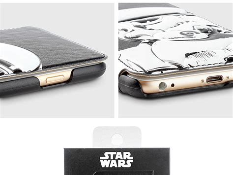 Iphone 6 6s Casing Cover Lucu Starwars Leather Bb 8 iphone 6 plus 6s plus wars stormtrooper leather