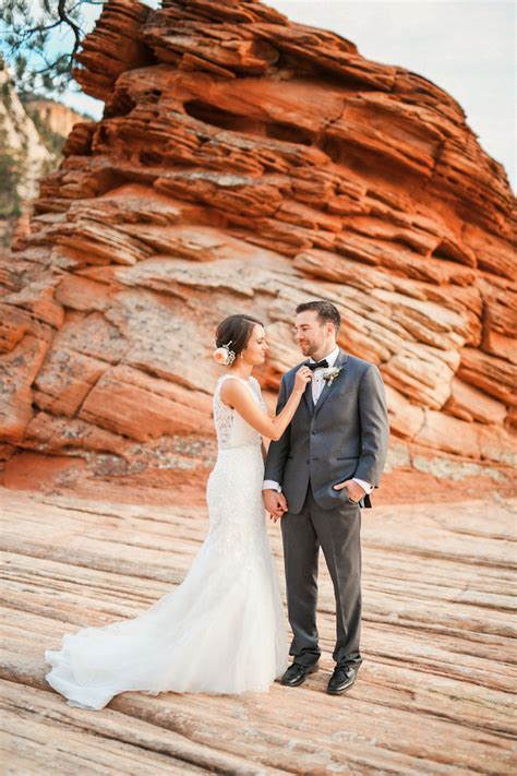 Zion National Park Wedding {Kelly John}   Utah Wedding