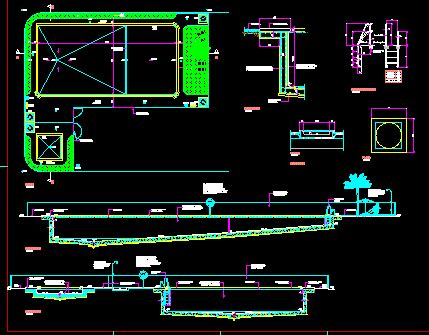 swimming pool detail section pool dwg section for autocad designs cad