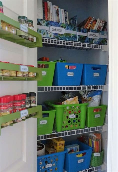 Storage Closet Ideas dollar store pantry organization hometalk