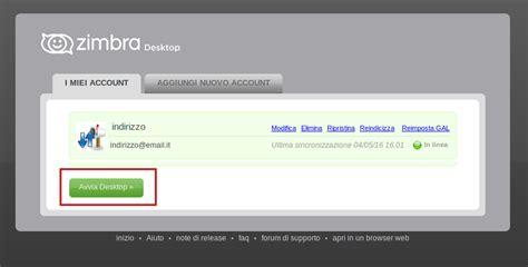tutorial zimbra free webmail configurazione imap zimbra desktop assistenza email it
