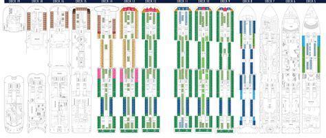 MSC Seaside and MSC Meraviglia deckplans   CruiseInd