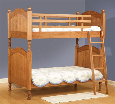 amish bunk beds amish quality bunk beds for your kid s room