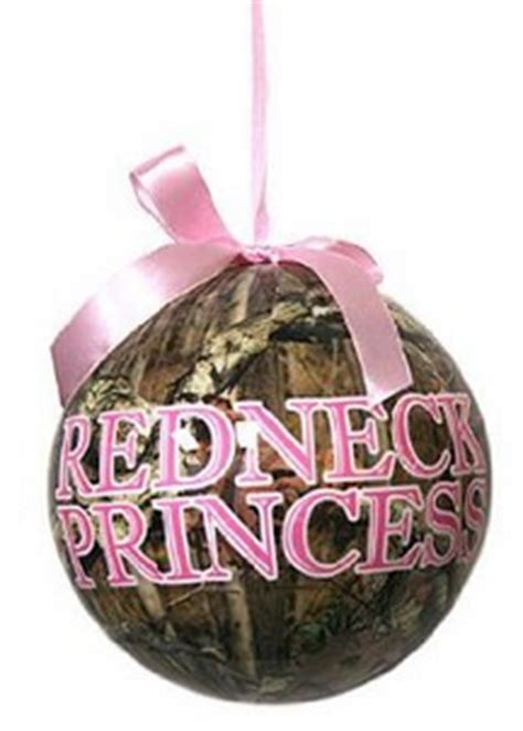 pink camo stocking and christmas ornaments country girl