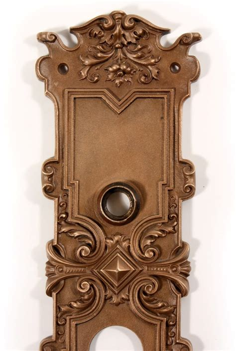 Antique Exterior Door Hardware Antique Cast Bronze Ghent Entry Door Hardware Set By Corbin C 1905 Ndks78 For Sale