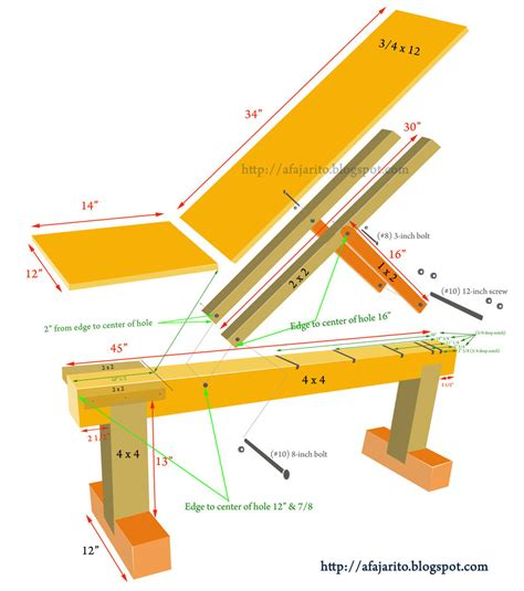 make a weight bench woodwork how to build a incline bench with wood pdf plans