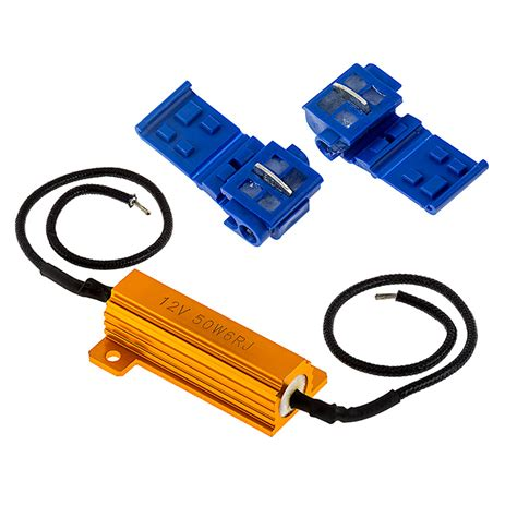 resistors for led trailer lights led light load resistor kit led turn signal hyper flash warning fix load