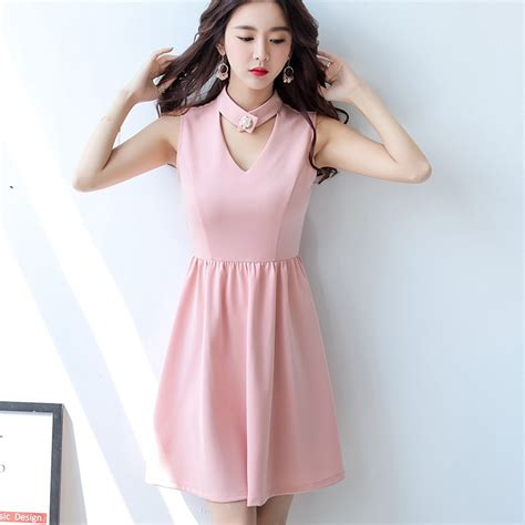Dress Mini Korean aliexpress buy summer dress clothing