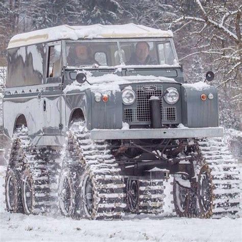 land rover snow snow rover land rover pinterest