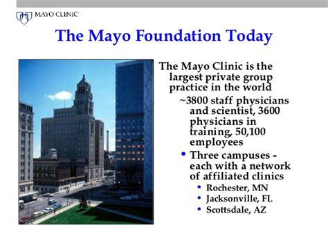 Rochester Mn Mba Programs by Mayo Clinic Asu Barrett Intro Talk 2012