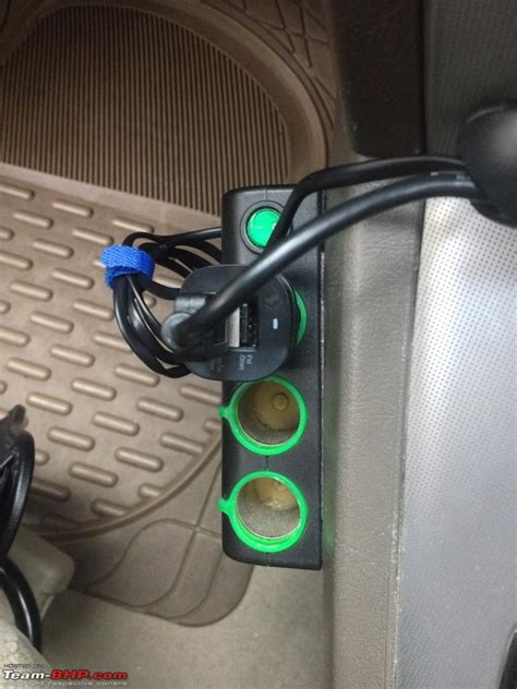 Do It Yourself Gadget by Diy Structured Cabling For In Car Gadgets Team Bhp