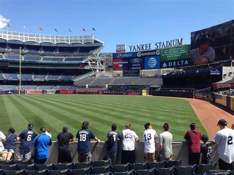 section 109 yankee stadium yankee stadium section 109 new york yankees