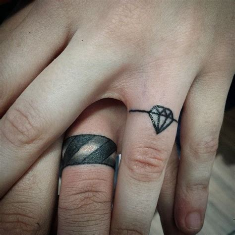 150 best wedding ring tattoos designs may 2018 part 2