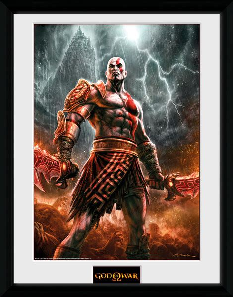 god of war il film god of war kratos lightening locandine film in