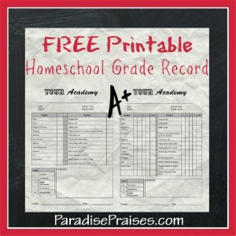 homeschool grade card template how to make a homeschool report card free printable