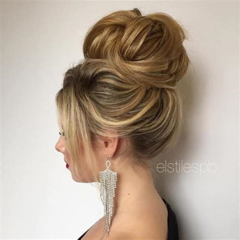 prom hairstyles in buns 40 most delightful prom updos for long hair in 2018