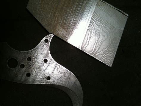knife pattern etching paul cox industries acid etching damascus