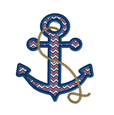 embroidery design anchor anchor applique machine embroidery design digital download