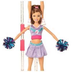 buy mattel barbie cheerleader doll giftset v2944 cheapest price grabmore