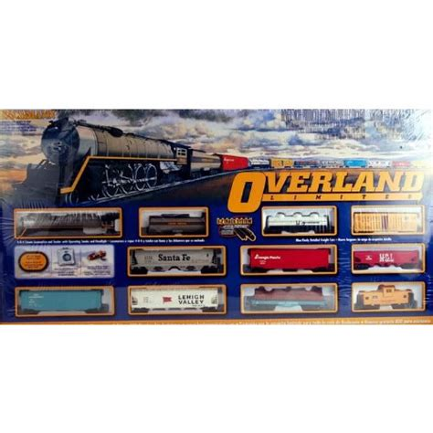 bachmann ho scale ready to run starter set part 3 bachmann trains overland limited ready to run ho scale