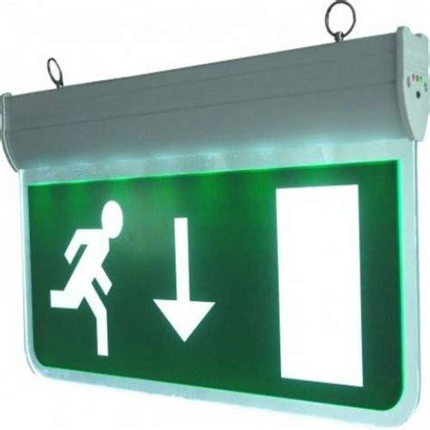 Enter Emergency Retro 0 4w emergency exit 3w led sign