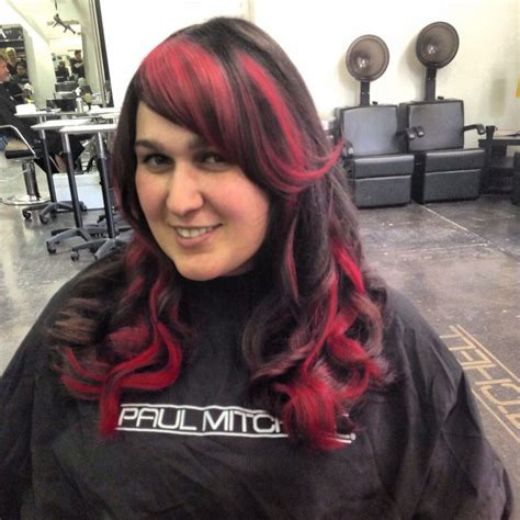 fohawk with red highlights 1000 images about hair there everywhere on pinterest