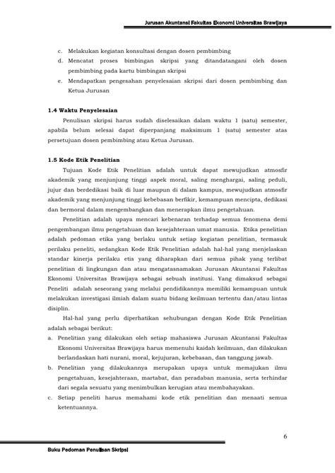 format proposal skripsi akuntansi pedoman skripsi jur akuntansi