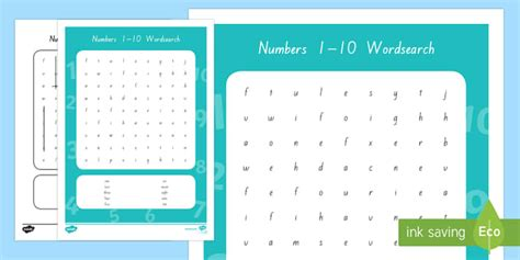 Number Lookup Nz Free Worksheets 187 Number Words 1 10 Free Math Worksheets For Kidergarten And