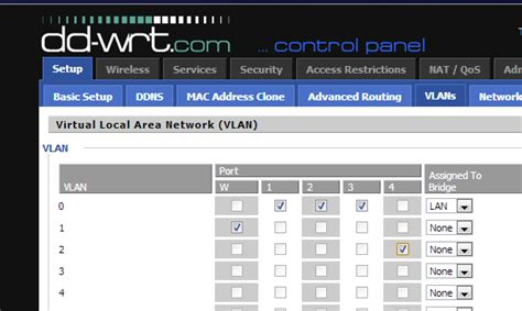 nvram reset dd wrt yet another it professional blog create a vlan with dd