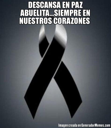 imagenes de luto con frases en español memes de lazo de luto galeria 132 imagenes graciosas