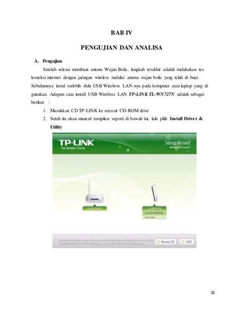Usb Pemancar Wifi laporan kerja proyek akhir quot pemancar wifi wajan bolic quot