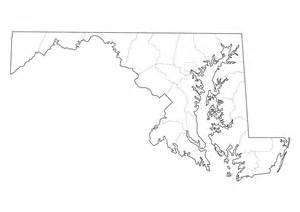 printable map of maryland md