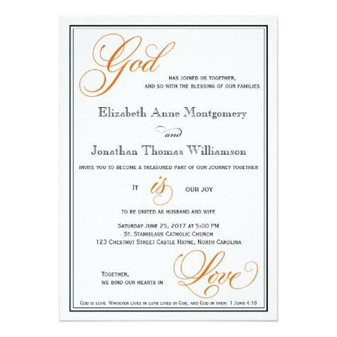 Christian Wedding Invitation Letter 242 Best Images About Christian Wedding Invitations On Christian Crosses Religious